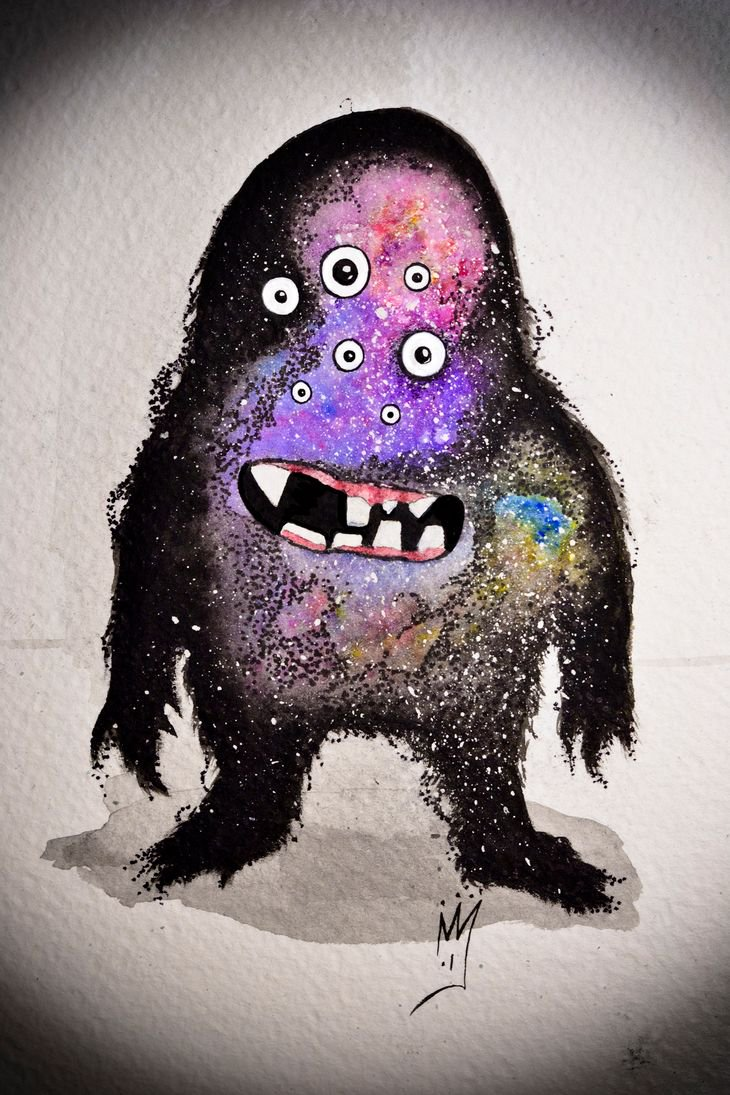 RT @hitRECord: ???? Galaxy Monster ????  https://t.co/viqz3gs2ze https://t.co/rGN7YCt7YJ