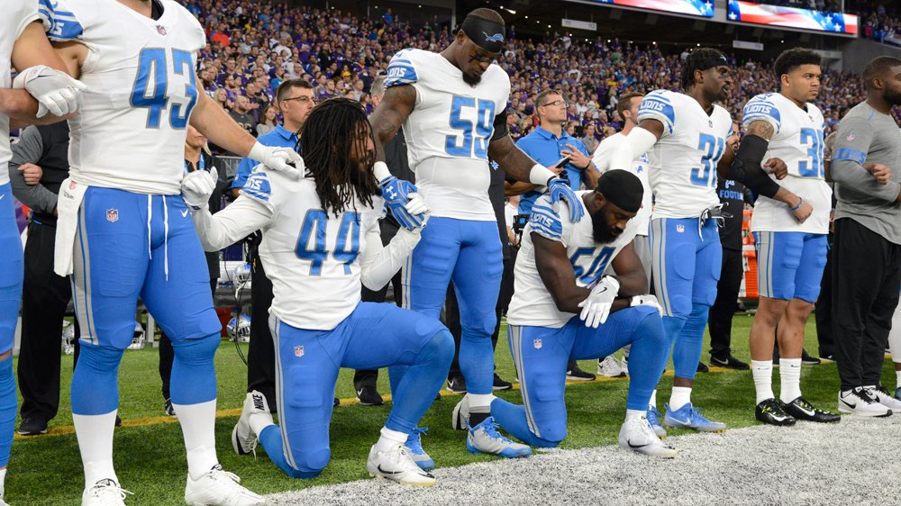 How the NFL became a platform for race politics via @AJListeningPost