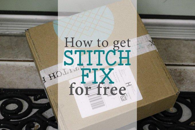 How to Get Stitch Fix for Free freebie stitchfix
