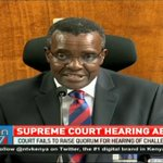 Quorum hitch force Supreme Court to abort hearing of challenge to poll