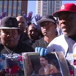 Mother of Anthony Lamar Smith has issue with some protesters marching in son`sname