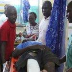 Two men rushed to Jaramogi Oginga Odinga Teaching and Referral Hospital with serious wounds