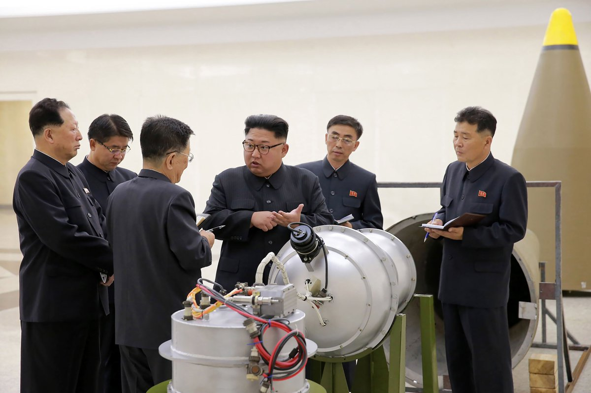 """North Korea has threatened the U.S. with its """"strongest hydrogen bomb test"""""""