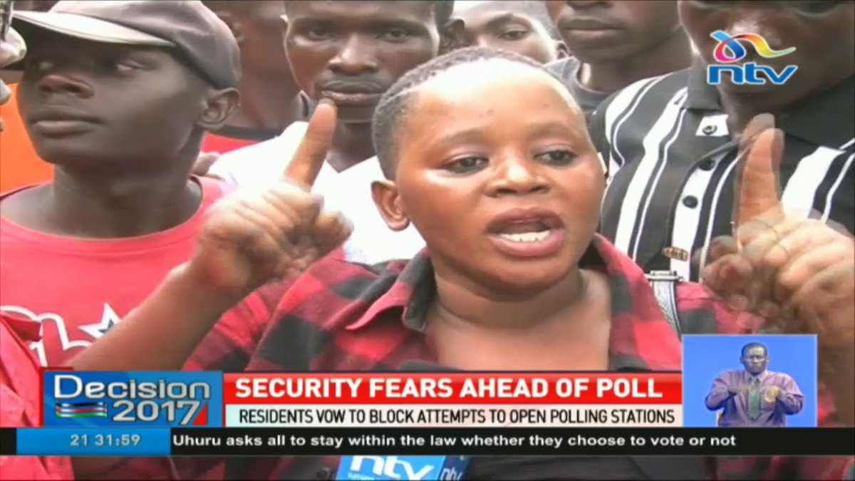 Security fears ahead of repeat presidential poll