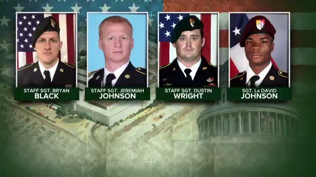 Military records show the U.S. soldiers killed in Niger had little to no combat experience