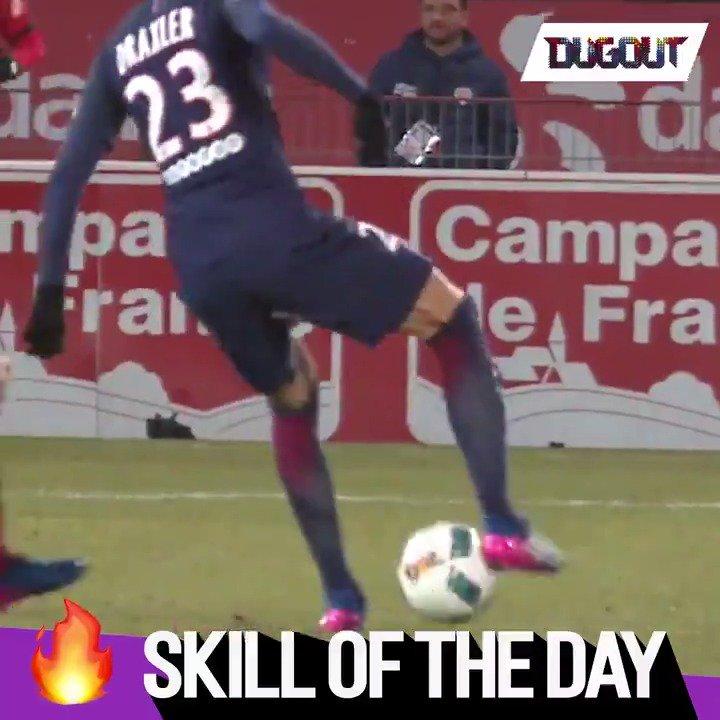 Skill of the Day!  Julian Drax draxler
