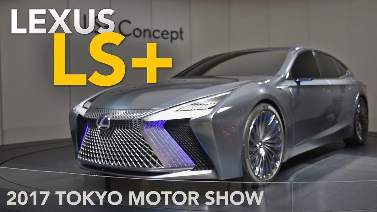 Lexus LS+ Concept First Look - 2017 Tokyo Motor Show - Dauer: 2 Minuten, 37 Sekunden