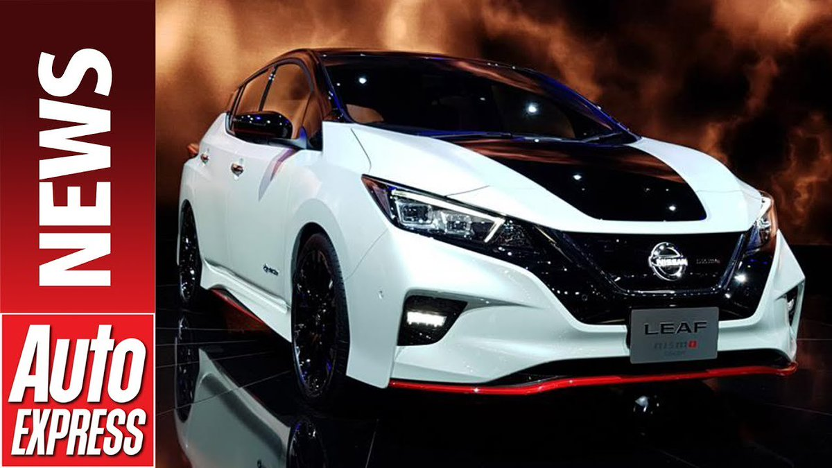 Could this Nissan Leaf Nismo Concept rival the Ford Focus RS? - Dauer: 74 Sekunden