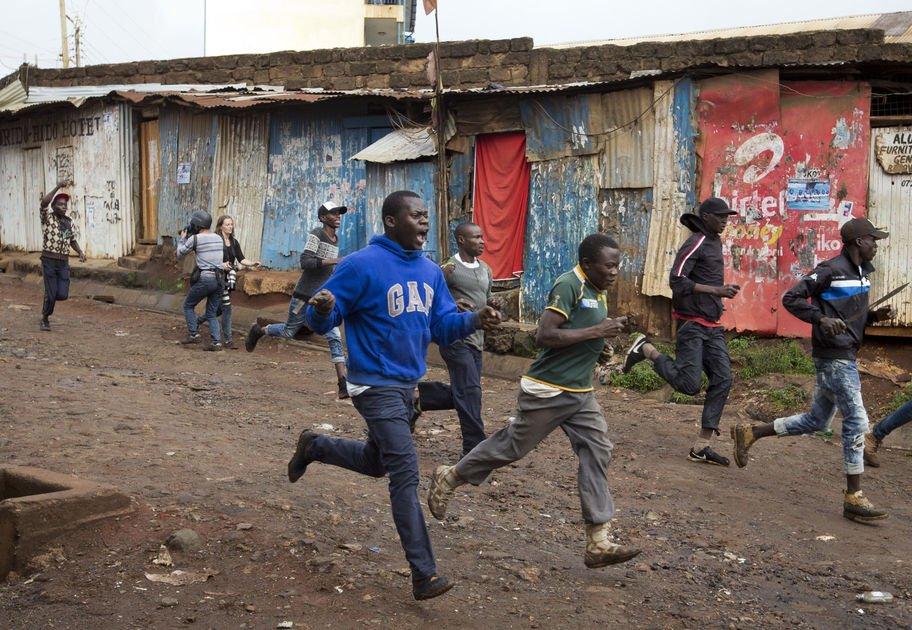 The Latest: Kenyan opposition leader to press for new polls