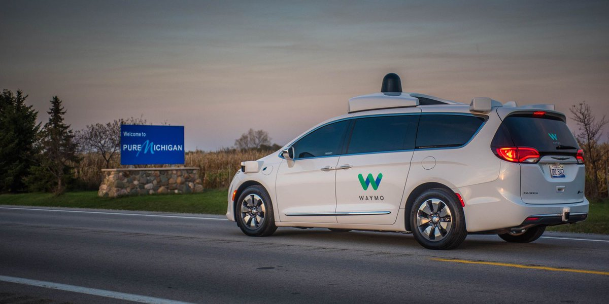Waymo to test self-driving Pacificas on Michigan roads this winter