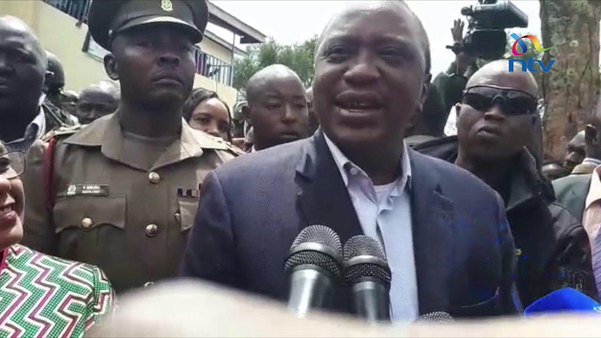 President Uhuru Kenyatta hints at dialogue with Nasa leader Raila Odinga