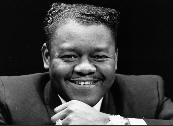 To one of the Greatest to ever do it. RIP Legend, Fats Domino🙏🏿🙏🏿🙏🏿✊🏿 https://t.co/zy6pFtHm12
