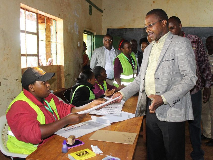 Kenya turned its back on Raila by voting, Murang'a leaders say