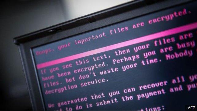 New ransomware strikes Ukraine and Russia