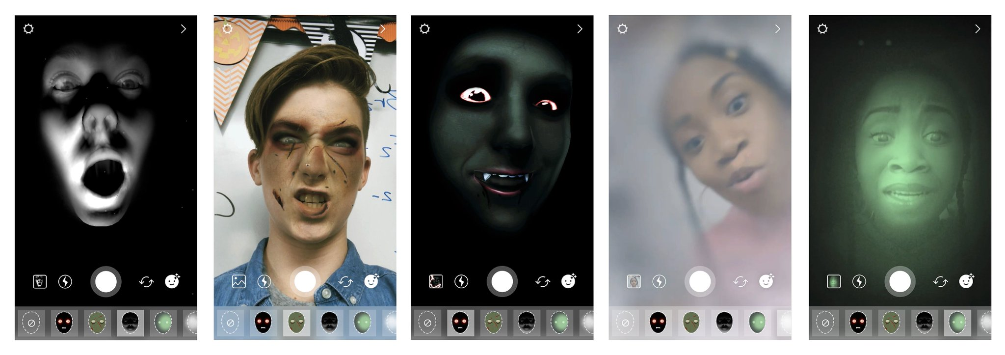 Get spooky with our new Halloween face filters and stickers! �� �� https://t.co/qxBfvrhxgW https://t.co/U4OdP9N6kw