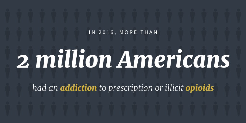 Drug addiction and opioids are ravaging America. https://t.co/A1DKb9P0Gt