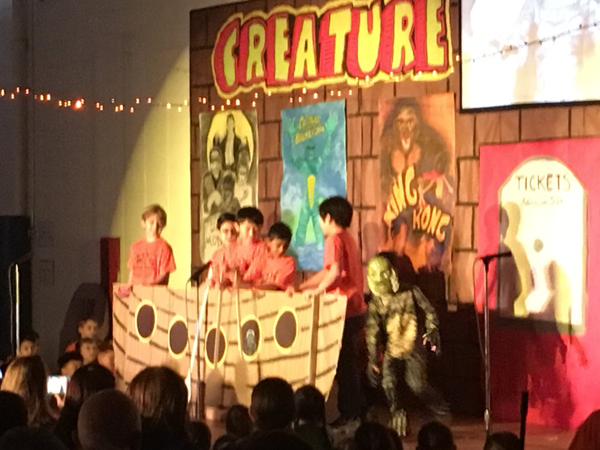 test Twitter Media - congratulations 4th graders on a spooktacular Creature Feature #d30learns https://t.co/KXZi3plQCX