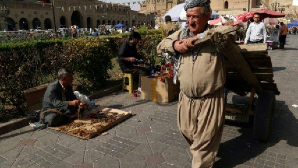 UN pushes Iraq, Kurds to hold talks