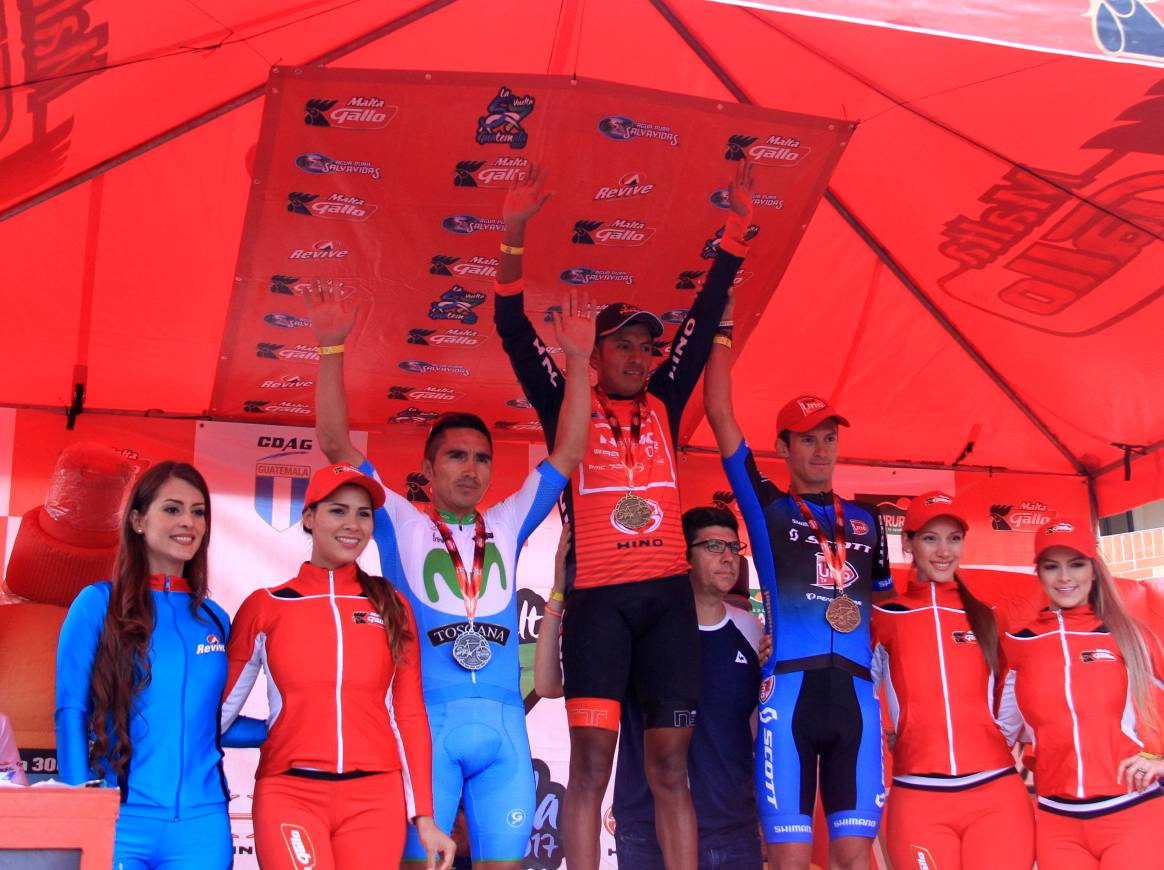 Guatemalteco Álder Torres gana la cuarta etapa de la Vuelta a Guatemala