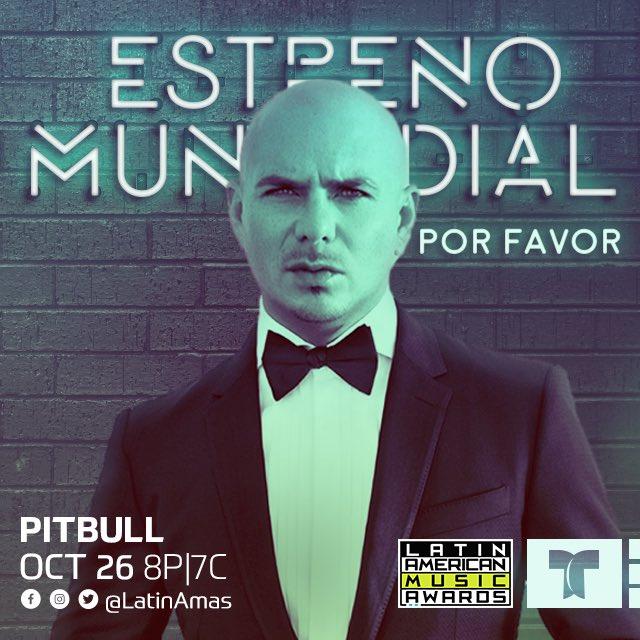 !No te pierdas el gran estreno de #PorFavor con @FifthHarmony , esta noche a las 8/7C por @Telemundo #LatinAMAs! https://t.co/XVLIQmD2ec