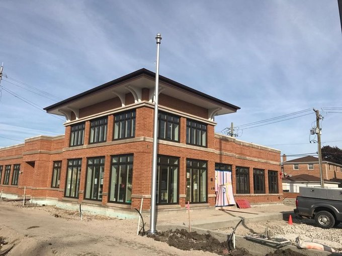 Wintrust Banks #Flagpoles @Norridge IL #Internal Winch Flagpole. https://t.co/Q12k9EXPsE https://t.co/jyxxuDol48