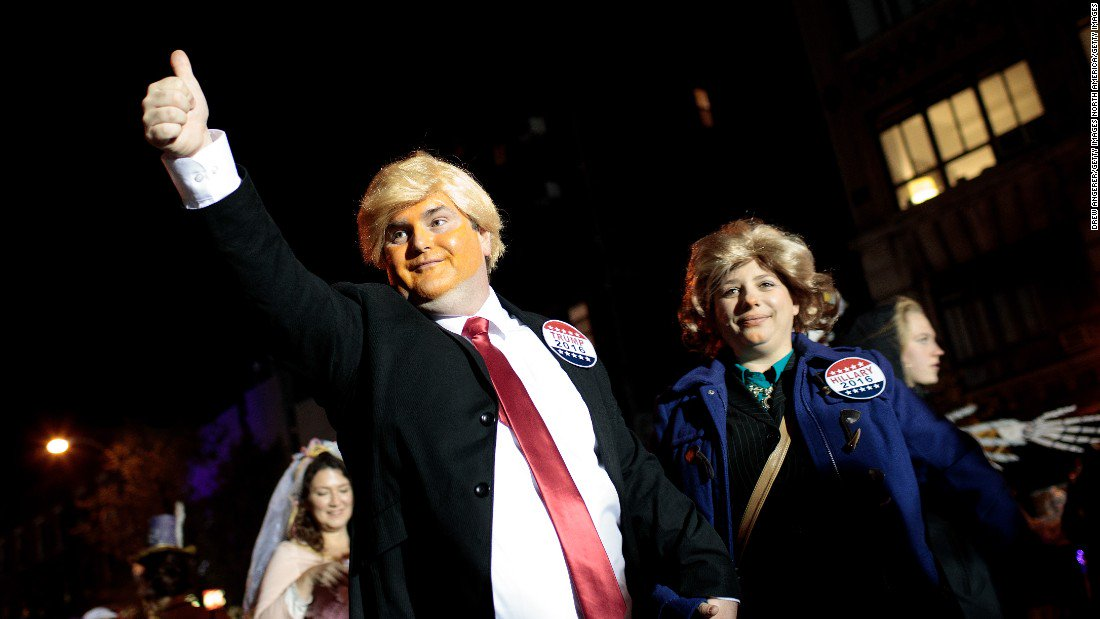 Will people still dress up as Donald Trump for Halloween this year?