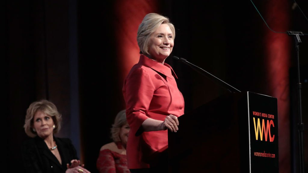 Hillary Clinton, Ashley Judd honored at Women Media Awards in NYC