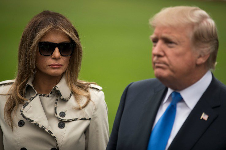 Donald Trump just got banned from where he proposed to Melania