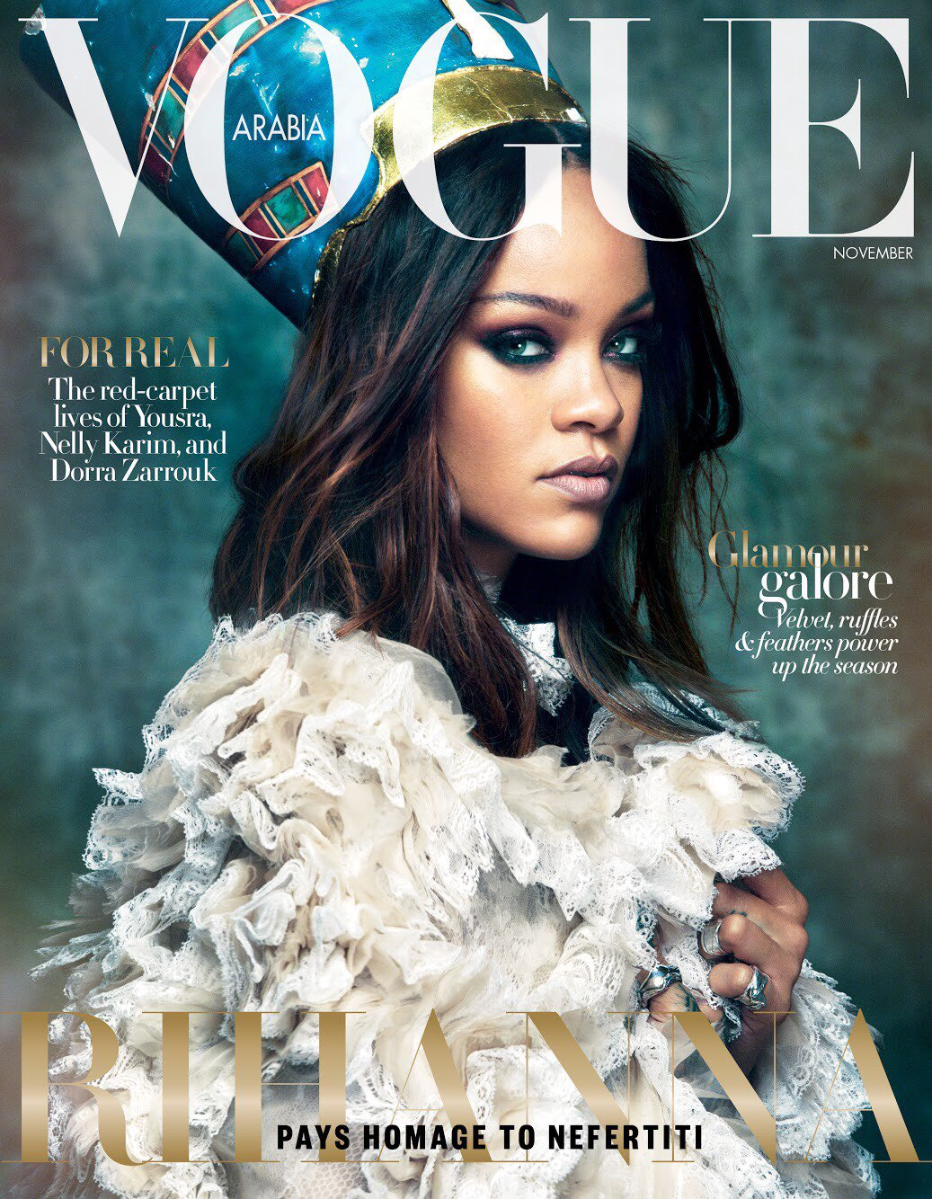 Cover of @VOGUEARABIA on stands Nov. 1st!! https://t.co/olYxk5Dv2E