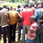 Youths in the town have been engaging security officers in running battles since Thursday night