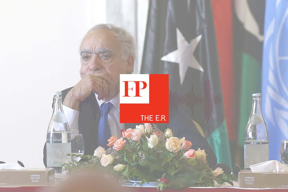 Can Libya be put back together? Today's episode of the E.R. tackles that.  Listen here: