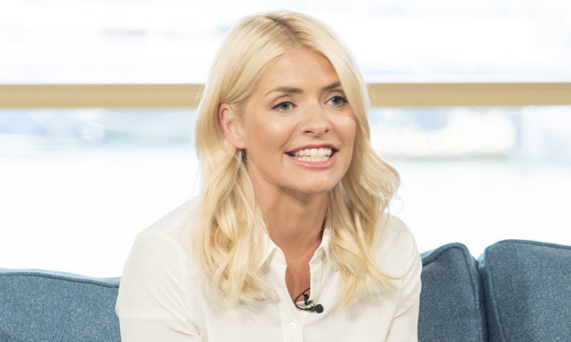 Holly Willoughby goes brunette for Halloween! See the pic: