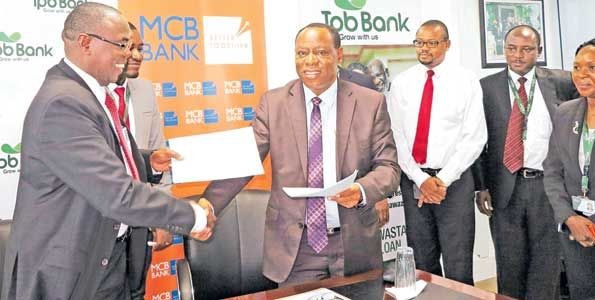 TPB, Mwalimu Bank team up to boost service provision