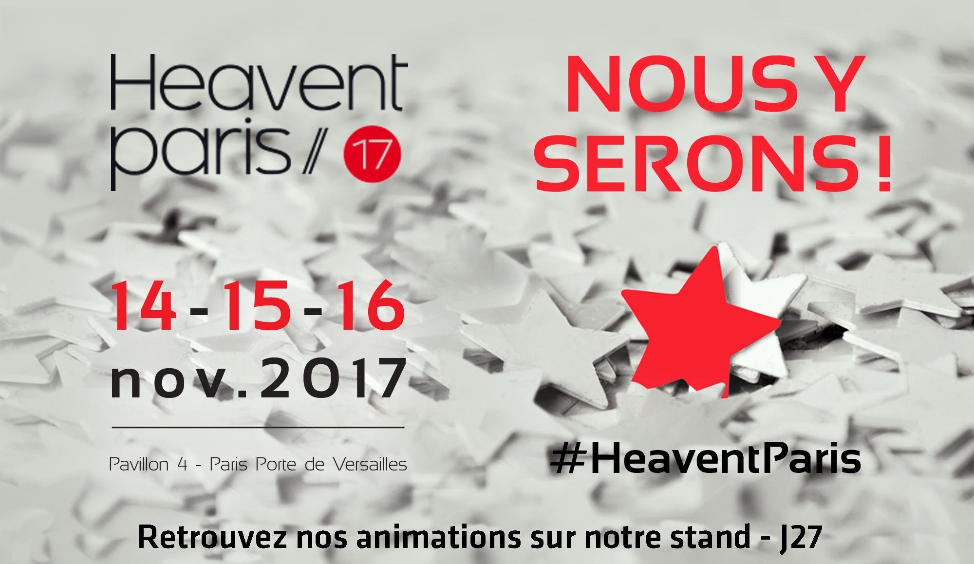 Présentation de nos #animations #événementielles à l'occasion du salon #HeaventParis ! Rdv stand J27 https://t.co/hiwpoa9CL9