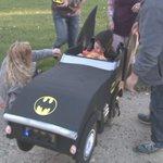 Home Depot creates Batmobile for kid in wheelchair for Halloween - | WBTV Charlotte