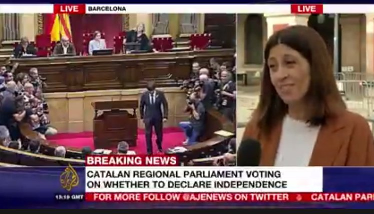WATCH LIVE: Catalan parliament begins vote on whether to declare independence from Spain
