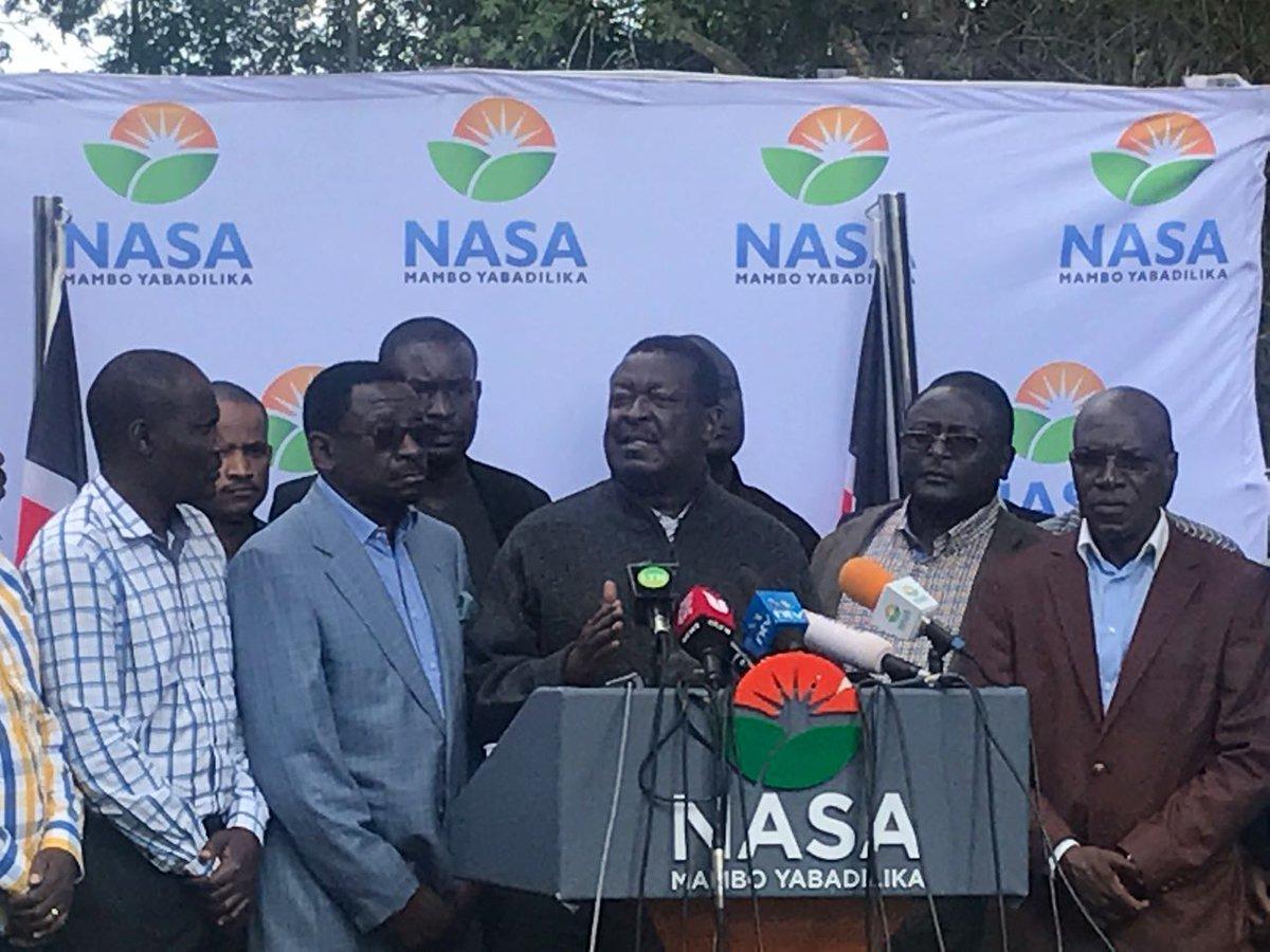 IEBC should call off Saturday's election, NASA demands