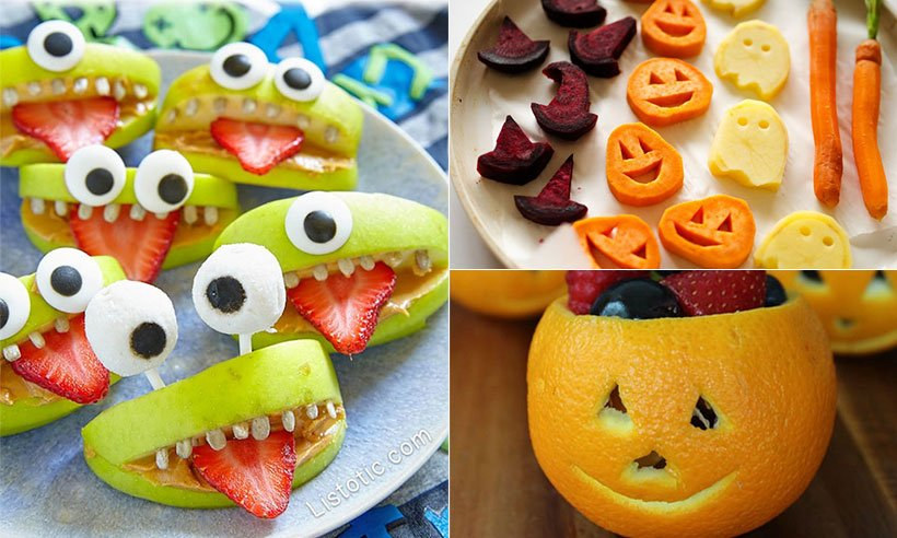 Put a healthier spin on Halloween with these snack ideas from @Pinterest: