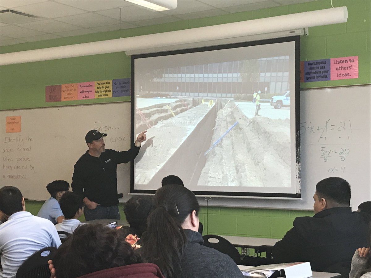 test Twitter Media - Jason Warner, Foreman, educating our youth! Thank you Earhart Middle School for letting us be apart of your day! https://t.co/quRsfRyi1m