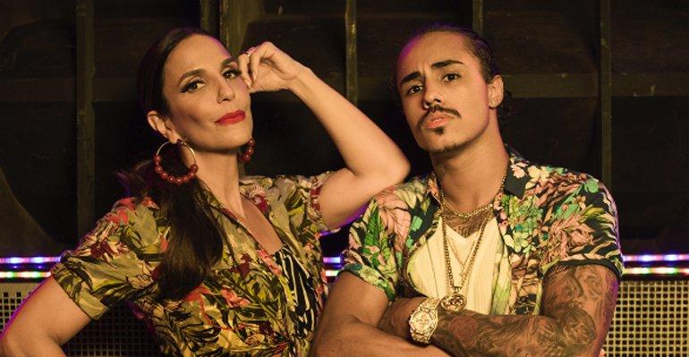 Musica Sangalo. Foto do site da Caras Brasil que mostra Ivete Sangalo lança o clipe da música Cheguei Pra Te Amar. Assista aqui