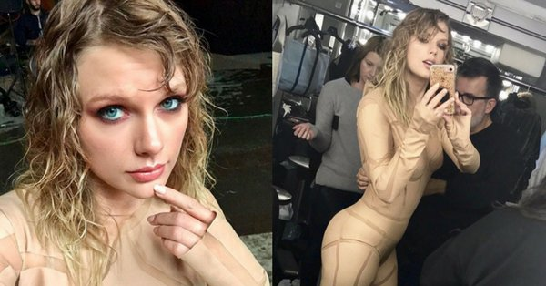 No, Taylor Swift wasn't naked in the Ready For It music video: