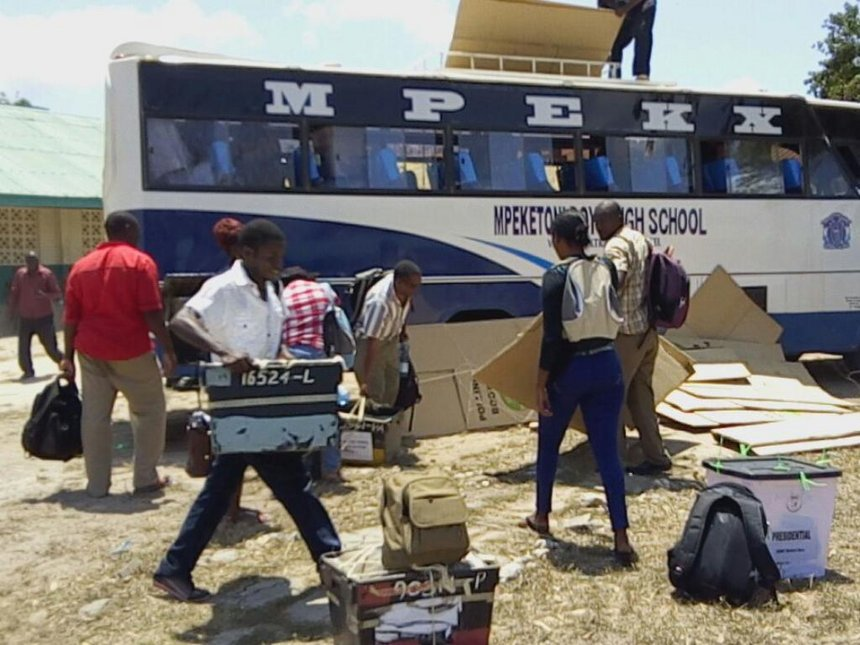 [VIDEO] Mpeketoni, Witu ballot boxes moved under tight security over al Shabaab