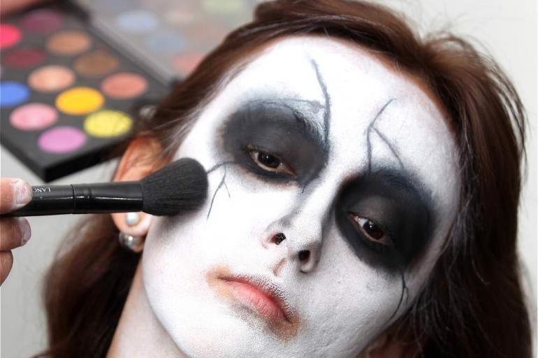 Las Caras Del Terror Ideas De Maquillaje Para Este Halloween - Maquillage-para-halloween