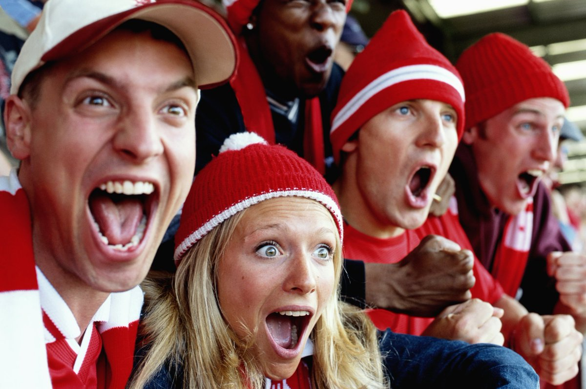 What happens to your body and brain when you watch football