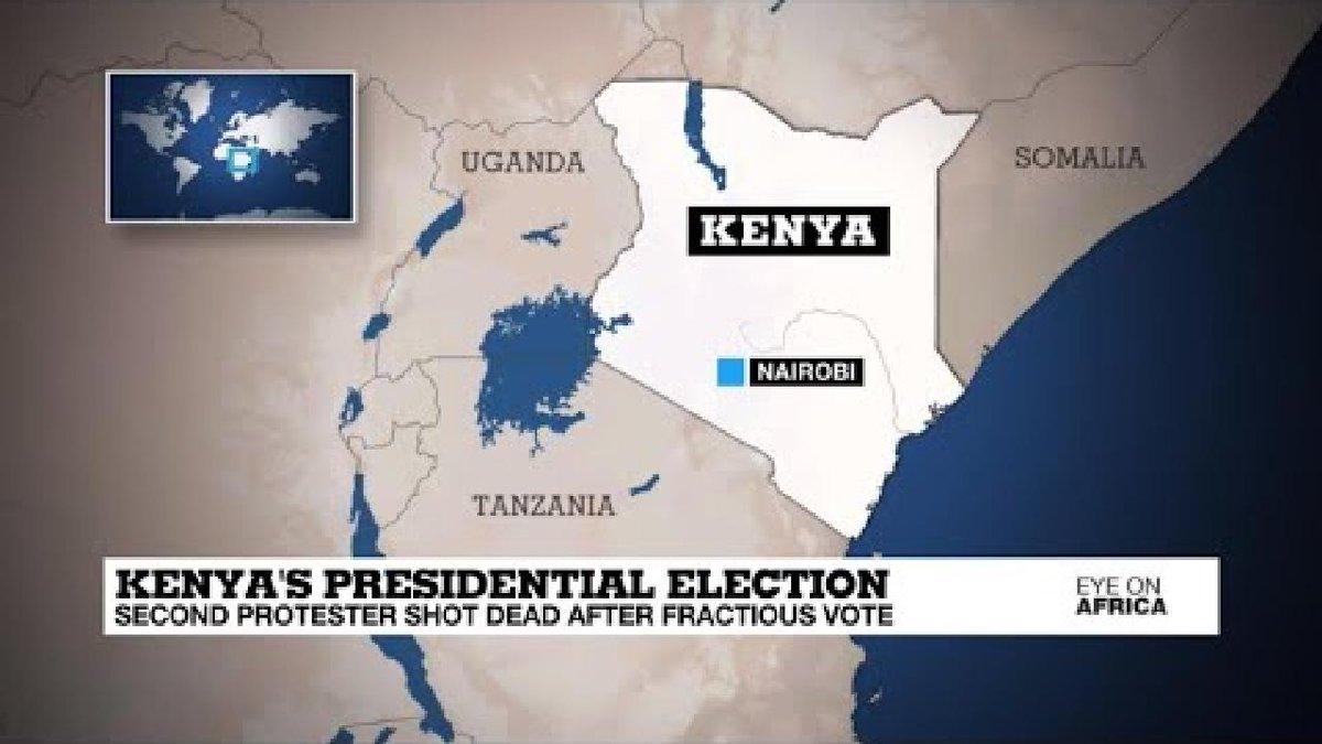 ?? Kenya: Unrest rages over presidential rerun
