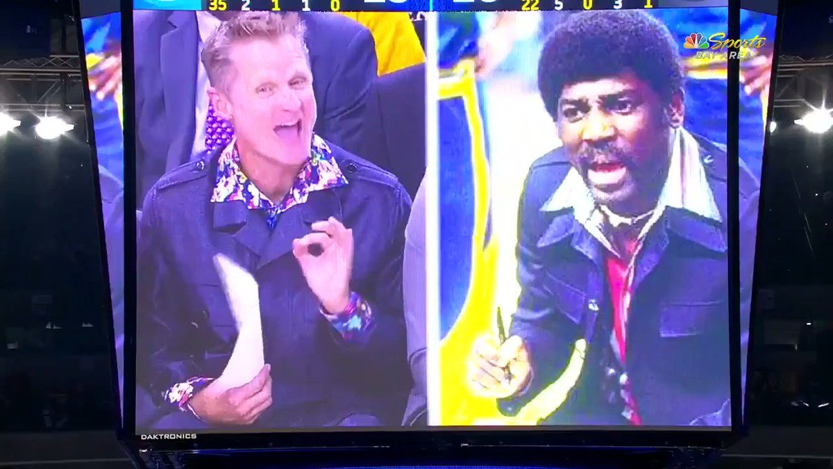 Steve kerr paying homage to former warriors coach al attles with