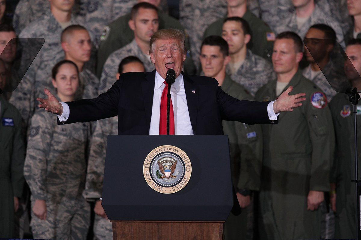 Most U.S. military officers don't like President Donald Trump, poll says