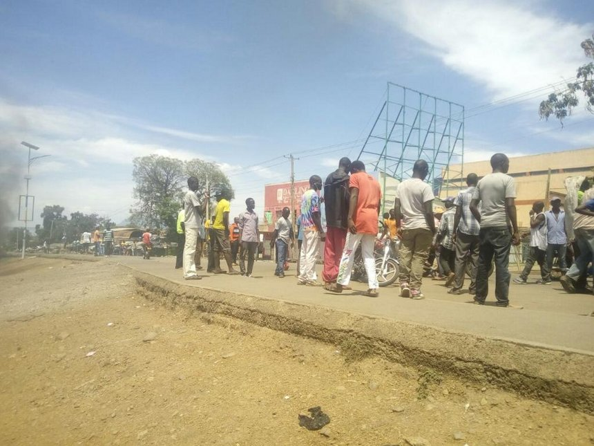 One dead, scores injured in Homa Bay anti-election protests