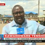 Calm returns to Kawangware after clashes on Thursday, Friday