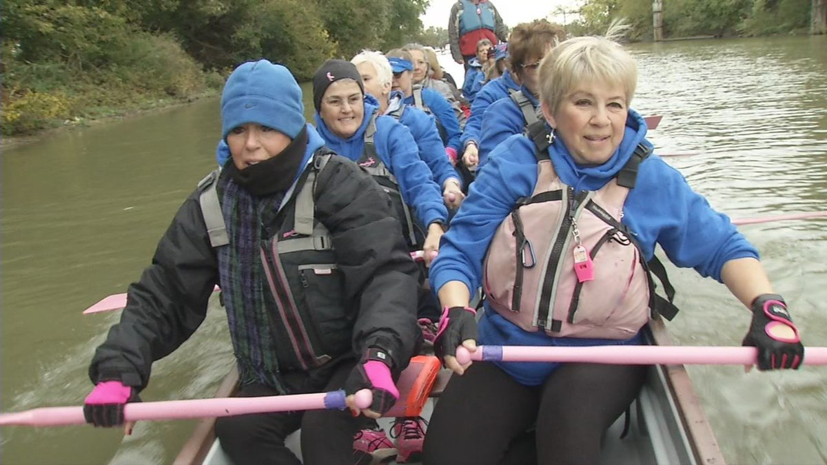 Derby City Dragons paddle past breast cancer